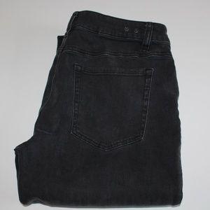 Cabi Curvy Slim Boot Cut Jeans size 8 Black Fade